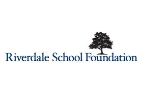 Logo for Riverdale School Foundation